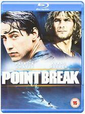 Point Break [Blu-ray] [1991] [Region Free] [DVD][Region 2]