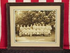 Vintage 1920s De Veaux School Baseball Team Photograph Antique Niagra Falls,NY