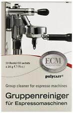ECM Espressomaschinen Brühgruppenreiniger, Reiniger für Siebträger 10 x 20 g