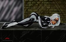 Black Cat crawl spiderman Marvel comics art suit 11x17 signed print Dan DeMille