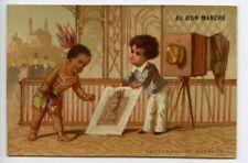 Chromos et découpis publicitaires de collection Bon Marché