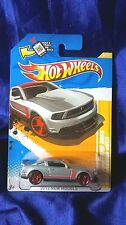 2012 Mustang Boss 302 Laguna Seca New Models Hot Wheels Die-Cast