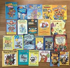 Lot 21 JOKE RIDDLES School Jokes Grizzly Riddles Haunted House Silly Knock-Knock