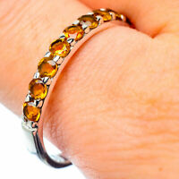 Citrine 925 Sterling Silver Ring Size 11 Ana Co Jewelry R27238F