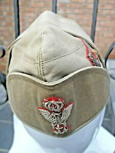 ww2 regio esercito generale bustina coloniale copricapo uniformi ventennio rsi
