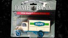 2 1926 Mack Semi Truck Banks Agway & Lender's Bagels Ertl Collectibles NIP