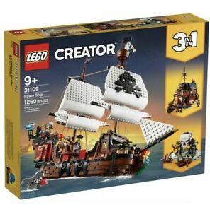 LEGO Creator 3 in 1 Pirate Ship - 31109