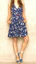 RALPH LAUREN BLUE LABEL  NAVY  SAILBOAT PRINT HALTER FLARE DRESS 2
