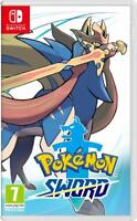 Pokémon Sword --Standard Edition (Nintendo Switch, 2019) New