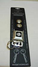 Keychain Set Belt Buckle Ford Oval Emblem Made in USA