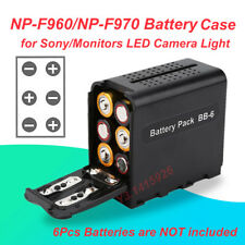 NP-F960/NP-F970 Battery Case LED Camera Light Panel for Sony/Monitors YN Boling