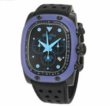Glam Rock GR70107 Men's Gulfstream Chrono Black Silicone Watch
