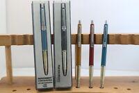 Vintage (c1980) Paper Mate Contour Ballpoint Pens, 5 Finishes, UK Seller