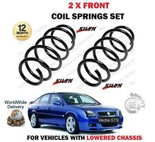 FOR VAUXHALL OPEL VECTRA C GTS 2.8 V6 TURBO 2005->NEW 2 X FRONT COIL SPRINGS SET
