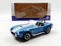 SOLIDO 1:18 1965 BLUE SHELBY COBRA A/C 427 MKII  DIECAST MODEL CAR S1850017