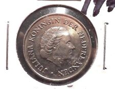 CIRCULATED 1972 25 CENT NETHERLANDS COIN! (71215)