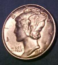 1940-D Mercury Dime *Super-Sharp *Choice Uncirculated *Make An Offer* & Save**