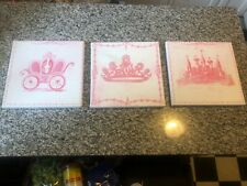 Princess Canvas Prints 3 Pink