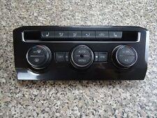 Original VW Golf 7 Klimabedienteil 5GE907044AG + Blende 5NB820073A