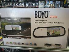 Boyo VTG50 5-Inch Rear View Mirror Monitor with Navigation