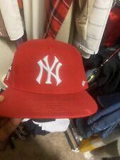 SUPREME New York Yankees 47 Brand 5-Panel Hat Red