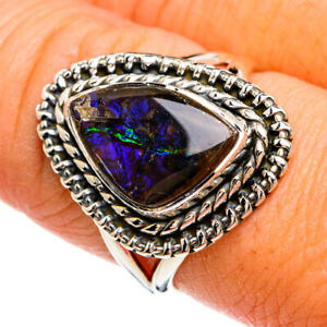 Ammolite 925 Sterling Silver Ring Size 8.5 Ana Co Jewelry R80383F