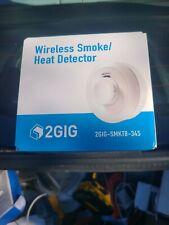 NEW IN BOX 2 GIG WIRELESS SMOKE HEAT DETECTOR 2GIG-SMKT8-345