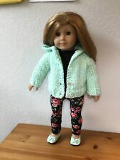 American Girl Doll Clothes Outfit- Hooded Sweater, Leggings, Shoes, T- Shirt +++