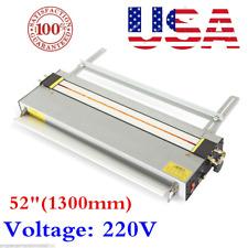 "USA 220v 52"" Acrylic Bender Plastic PVC Bending Machine Infrared Calibration"