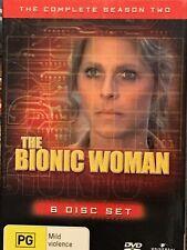 The Bionic Woman Season Two DVD Set PAL Region 2,4,5 LIKE NEW FREE SHIPPING !!