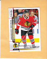 2017 18 O PEE CHEE ALEX DEBRINCAT MARQUEE ROOKIE #645 CHICAGO BLACKHAWKS RC