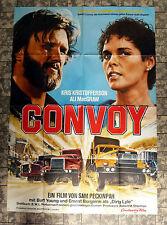 CONVOY * PECKINPAH - A0-FILMPOSTER XL Ger 2-Sheet ´78 Kristofferson, MacGraw