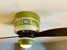 "Craftmade WarPlanes 42"" Flush Mount Ceiling Fan with Light WB242SC2"