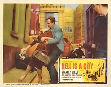 Original Lobby Card 1960 Hell Is A City Val Guest Stanley Baker John Crawford