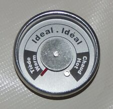 Universal Brinkmann Upright Smoker Temperature Gauge All-In-One Round 072-0006-0