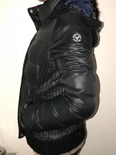 American Eagle Outfitters Black Quilted Padded Puffer Jacket