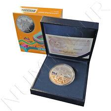 ESPAÑA 10 euro plata 2020 proof  8 REALES UEFA EURO 2020
