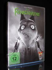 DVD FRANKENWEENIE von TIM BURTON dem Regisseur von ALICE IM WUNDERLAND ** NEU **