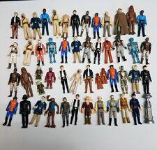 Vintage Star Wars Huge 51 Figures Lot 1977 to 1983 Kenner Originals Old