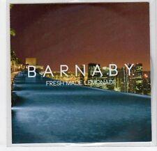 (EF295) Barnaby, Fresh Made Lemonade - 2013 DJ CD