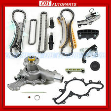 FORD MAZDA MERCURY 4.0L SOHC V6 Engine TIMING CHAIN KIT + WATER PUMP w/o GEARS