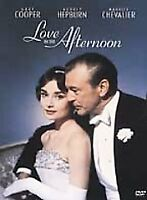 Love in the Afternoon-Warner DVD-Region 1-Gary Cooper-Audrey Hepburn
