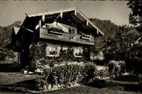 Reit im Winkl alte Ansichtskarte 1969 gelaufen Partie an der Pension Haus Daheim