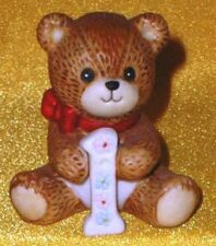 Porcelain Lucy Rigg & Me Age Year One 1 Teddy Bear Figurine 1982 Birthday Series