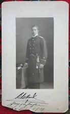 Original SIGNED Photograph PRINCE ADALBERT OF PRUSSIA Son Wilhelm Germany C1909