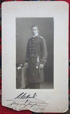 Original SIGNED Photograph PRINCE ADALBERT OF PRUSSIA Son Wilhelm Germany C1909