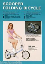 Prospekt GB NBL Scooper Folding Bicycle 90er Fahrradprospekt Fahrrad Klapprad