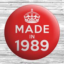Bottle Opener Made in 1936 30/'s Birthday Badges Handbag Mirror Fridge Magnet