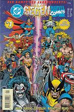 DC / MARVEL CROSSOVER (deutsch) # 1 - KAMPF DES JAHRHUNDERTS - DINO 1996 - TOP