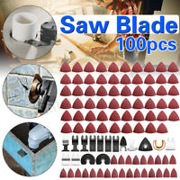 100Pcs Mix Oscillating Saw Blade Kit For Fein Bosch